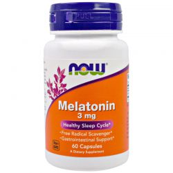 Мелатонин. Melatonin, 3 мг, 60 капсул